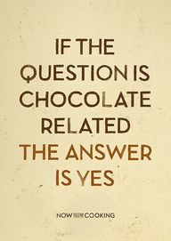 Chocolate poster by