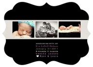 custom birth announc...