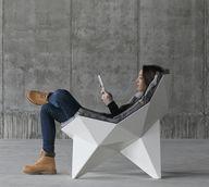 Lounge geometric cha