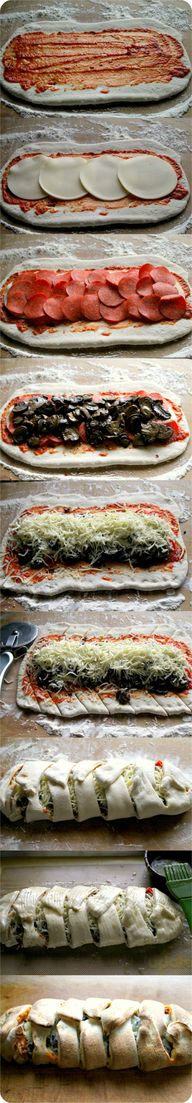 Pizza Week Calzones