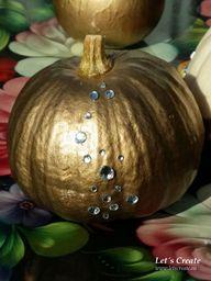 Golden pumpkin