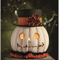white pumpkin idea