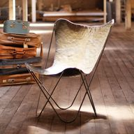 Iron Sling Chair in
