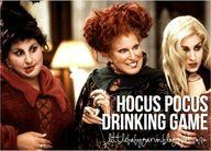 Hocus Pocus Drinking