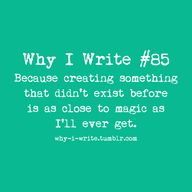 Why I Write #85: Bec