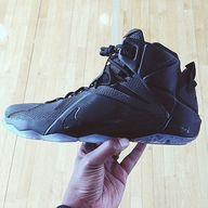 "Nike LeBron 12 ""Blac"
