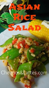 Asian Rice Salad is