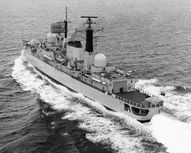 HMS Coventry sea tri