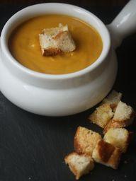 Pumpkin Soup with Pa