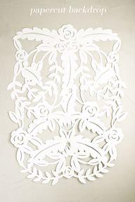 DIY Papercut Leaves