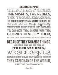 Steve Jobs.  by @whi...