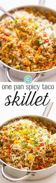 One Pot Spicy Taco R