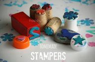 These homemade stamp