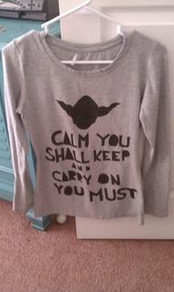 Yoda Keep Calm Shirt
