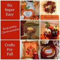 Six Super Easy Craft
