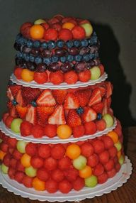 Fresh Fruit Wedding