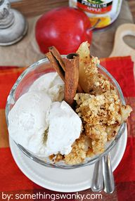 Apple Toffee Crumble