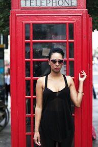 In London wearing Si