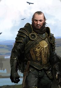 Commander Rae'Can, commander of the Sun Templars