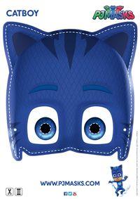 Make your own Catboy mask! #pjmasks #activitysheet #disneyjunior