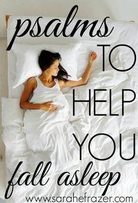 Psalms to Help You Fall Asleep - Sarah E. Frazer