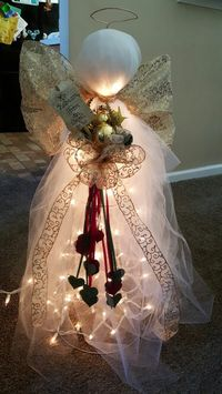 Tomato cage angel for sale on etsy