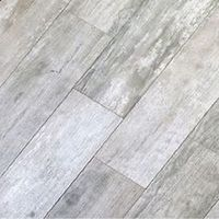 Gray Vinyl Flooring That Looks Like Wood   35 sq ft-8x48 Weathered Board Porcelain Tile-Wood Look