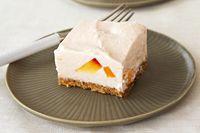 Cheesecake PHILADELPHIA de duraznos y crema sin hornear Receta