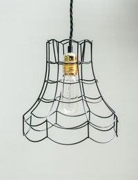 Vintage Wire Lamp Shade