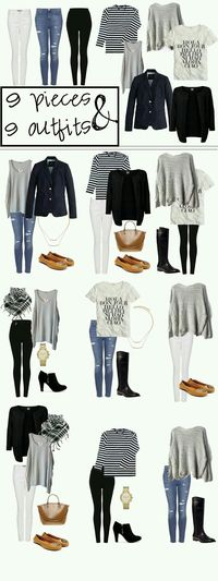 Everything except purses, shoes, and scarves