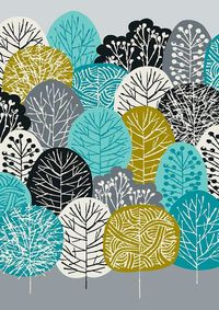 Spring Greens, limited edition giclee print