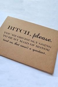 Super Fabulous Bridesmaid Proposal Ideas ❤ See more: http://www.weddingforward.com/bridesmaid-proposal-ideas/ #weddin