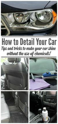 How to Detail a Car - Clean and Scentsible