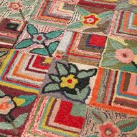 Dash and Albert Rugs Hooked Gypsy Rose Area Rug