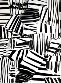 Artist: Laurent Koller; Paper Collage