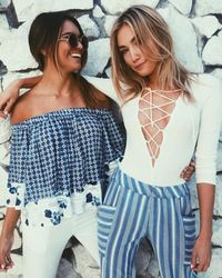 shopbop.com - Free People Lace Up Layering Top