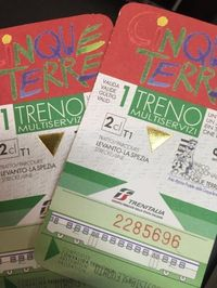 """Must know - Cinque Terre trail and train passes. The Cinque Terre Card"""" and the…"""