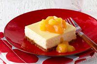 Cheesecake de mango y piña Receta