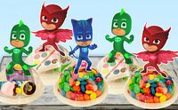 PJ Masks Party Favors Candy Containers by KidsInvitations on Etsy