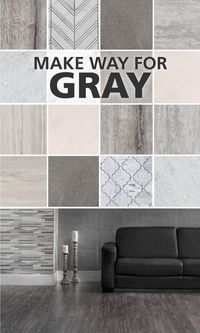 Gray is one of our favorite color trends. Here's why...