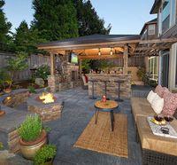 Firepit, bar island, fireplace, living room, putting gree...http://www.paradiserestored.com/portfolio_item/roscoe/