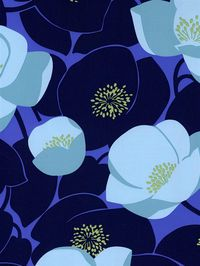 This fun and fresh floral Amy Butler wallpaper will add a chic touch to any room. Get it now from AmericanBlinds.com