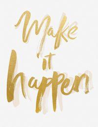 Motivational Monday? Make it happen!  http://www.integritymedicalaesthetics.com