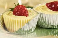 Mini cheesecakes JELL-O® sin hornear Receta - Comida Kraft