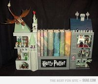Harry potter bookcase