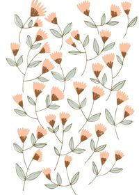 | ELEMENTS | Simple pretty flower design where rose gold but also other colours can be implemented