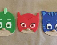 PJ Masks Inspired Cake Topper  Catboy by PeaceLoveandCakeNY | Etsy