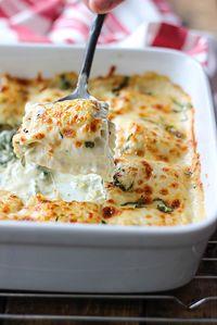 Spinach and Artichoke Ravioli Bake - The Cooking Jar