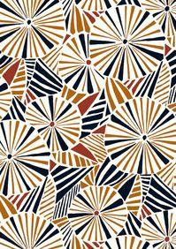 pinwheel pattern (by Minakani - happybuddhabreathing)
