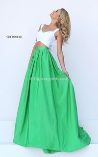 Sherri Hill 50458 2pc Ivory Green A Line Prom Dress.jpg